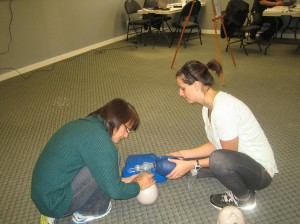 St Mark James CPR and AED Training in Hamilton